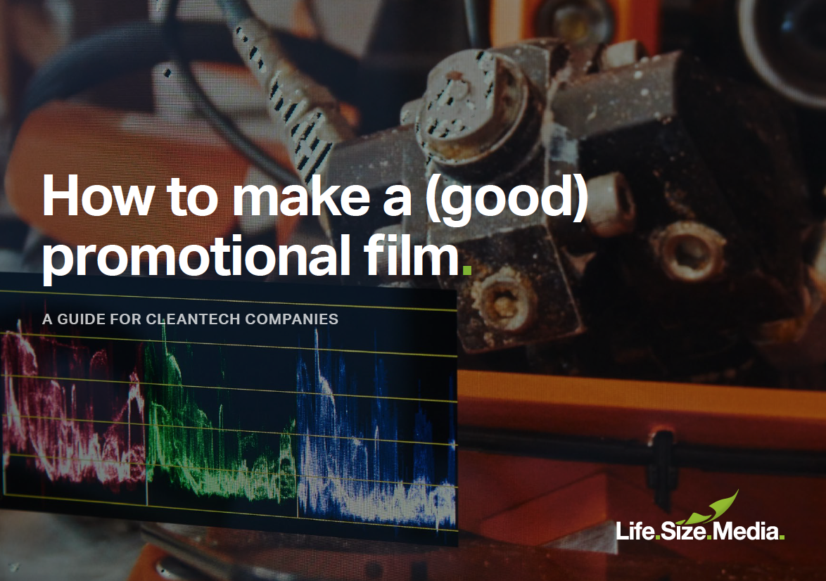 How to make a (good) promotional film
